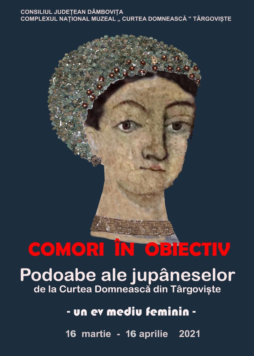 Comori în obiectiv: Podoabe ale jupâneselor de la Curtea Domnească din Târgovişte - un ev mediu feminin -