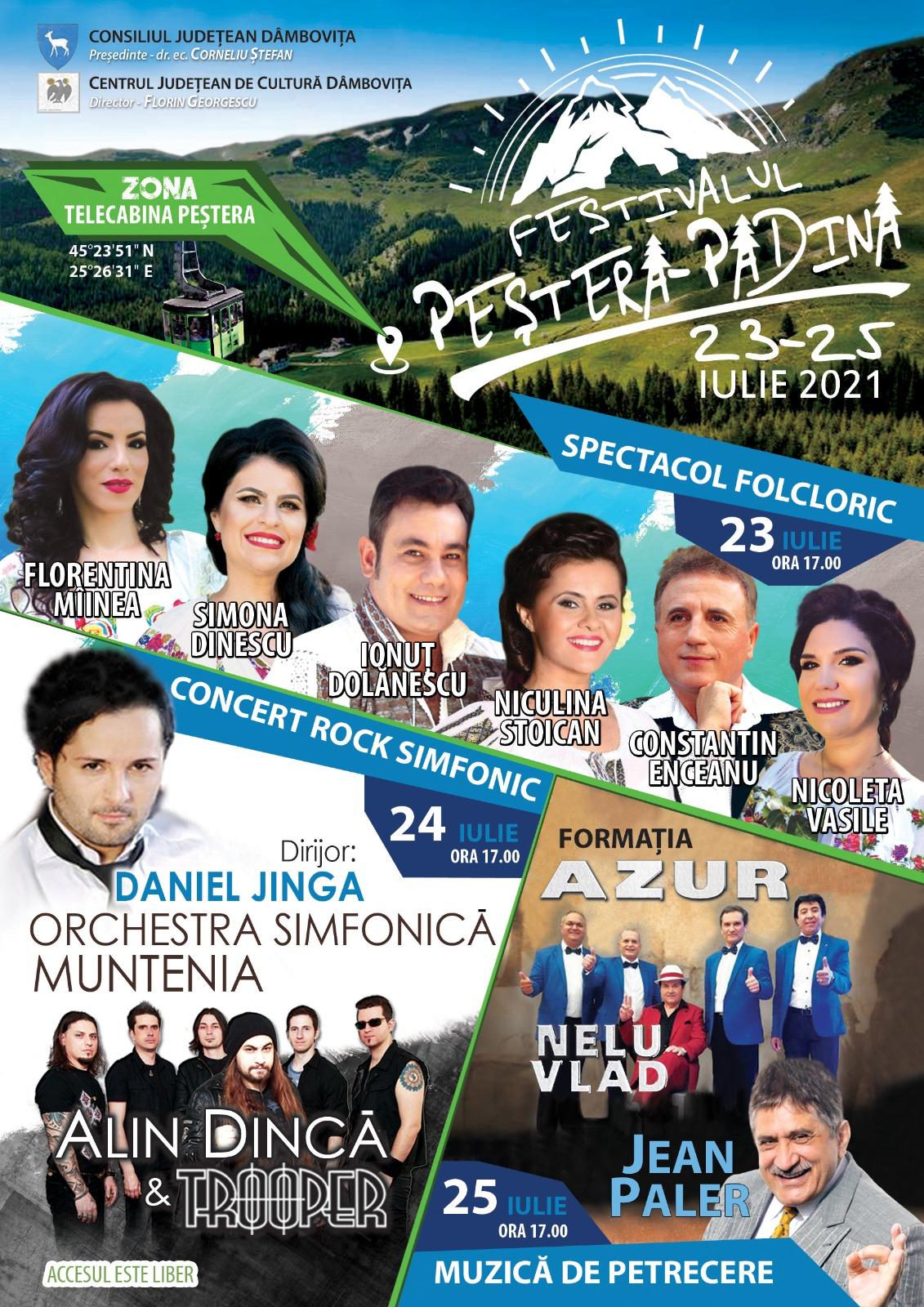 """Festivalul """"Padina – Peștera"""""""